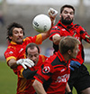 2009 Senior Football Semi-Final - Gary Conway Padraig Kehoe