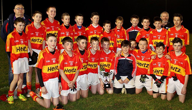 2016 Wexford Divsion 2 Feile Peil winners