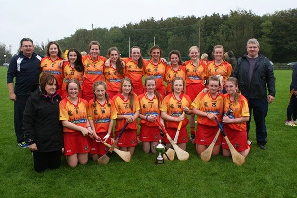 2016 Wexford Under 16 Camogie Winners
